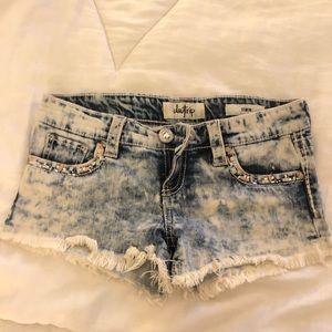 Embellished Jean shorts size 26